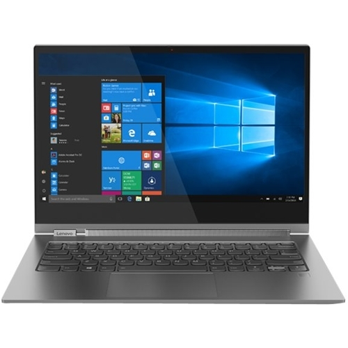 Lenovo 81C40001US Yoga C930 13.9u0022 UHD Touchscreen i7-8550U 1.8GHz 8GB RAM 256GB SSD Win 10 Home Iron Grey