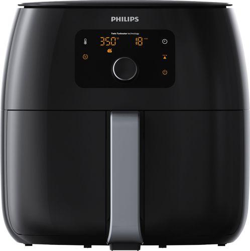 Philips 4qt Twin TurboStar Digital Air Fryer Black - HD9650/96