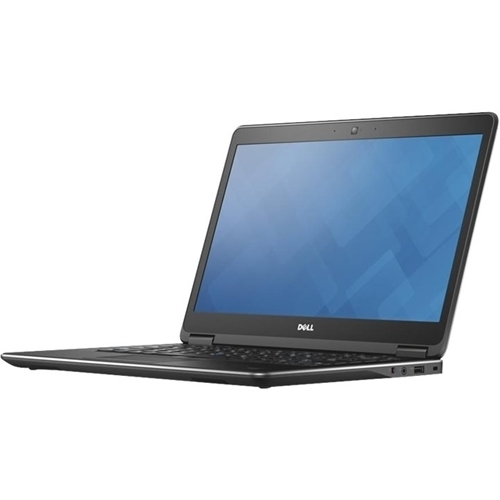 "Dell - Latitude 14"" Refurbished Laptop - Intel Core i7 - 8GB Memory - 500GB Hard Drive - Black"
