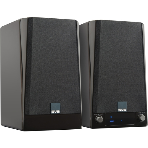 SVS - Prime Wireless Speakers for Streaming Music with Amazon Alexa Voice Assistant - Gloss Piano Black