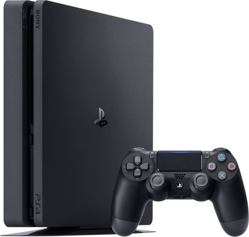 Sony - Geek Squad Certified Refurbished PlayStation 4 1TB Console - Black Incredible games; endless entertainment