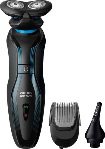 Philips Norelco Click & Style Wet & Dry Mens Rechargeable Electric Shaver - S740/80