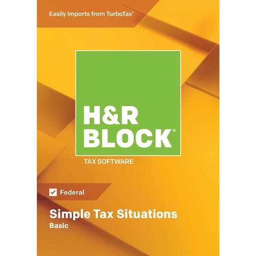 H & R Block Basic Tax...