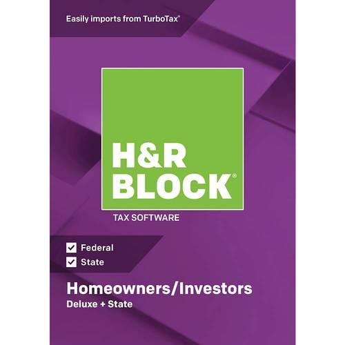 H & R Block Deluxe +...