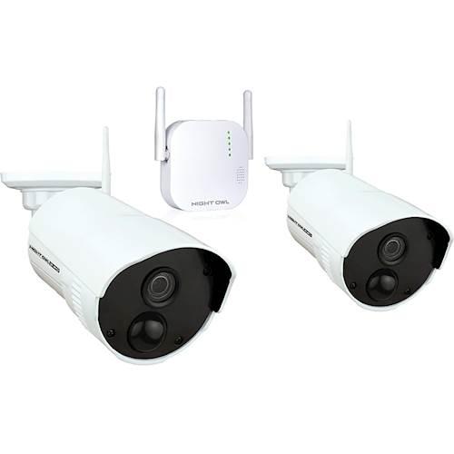 Night Owl Video Surveillance System, Model WG3-2OU-16SD-B