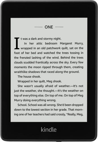 Amazon Kindle Paperwhite (10th Generation, 2018 Release) - Black (with Special Offers)