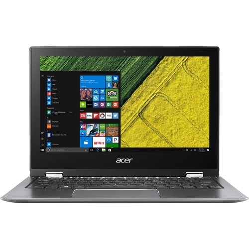Acer Spin 1 Laptop 11.6u0022 Intel Pentium- 1.1GHz 4GB Ram 64GB Flash Windows 10 - Refurbished