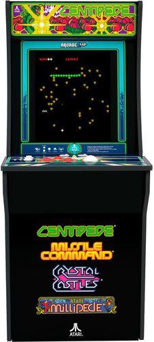 Arcade1Up Atari Centipede Arcade Cabinet – Black, 815221026025