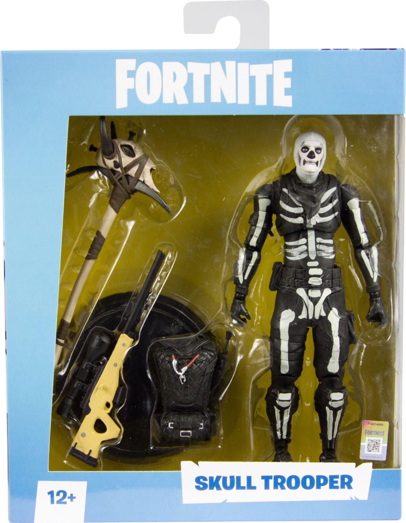 Mcfarlane Toys Fortnite Skull Trooper Premium Action Figure, Multicolor