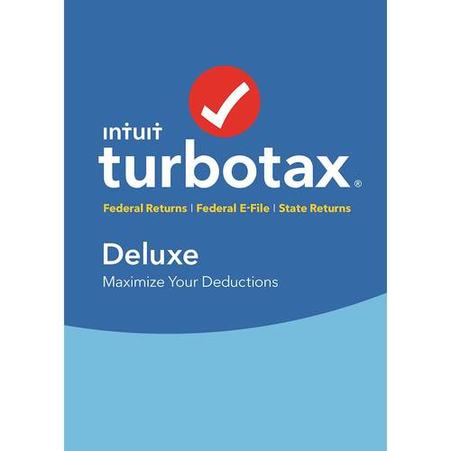 TurboTax Deluxe State 2018