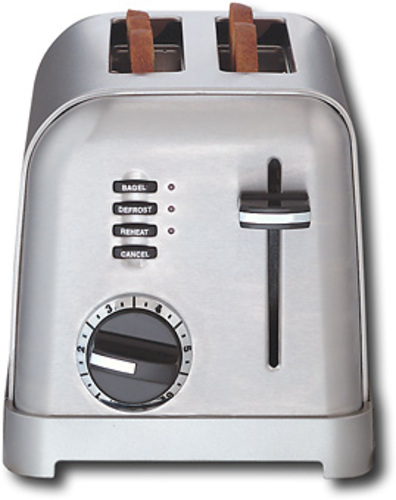 Cuisinart - Metal Classic 2-Slice Toaster - Stainless-Steel 6307631