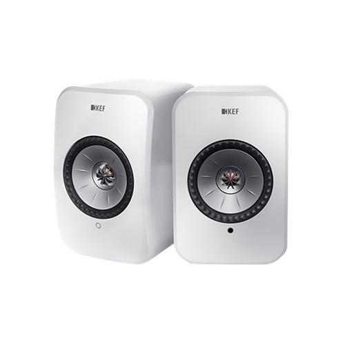 KEF - LSX Hi-Res Wireless Speakers - Gloss White