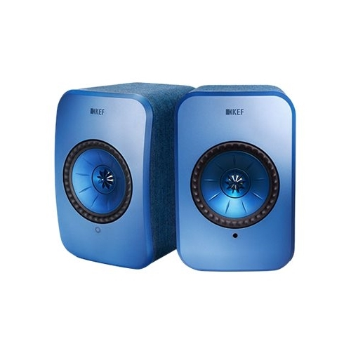 KEF - LSX Hi-Res Wireless Speakers - Blue