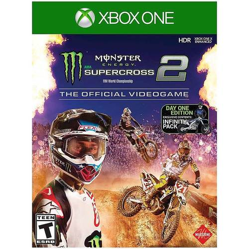 Monster Energy Supercross 2: The Official Video Game Day One Edition - Xbox One