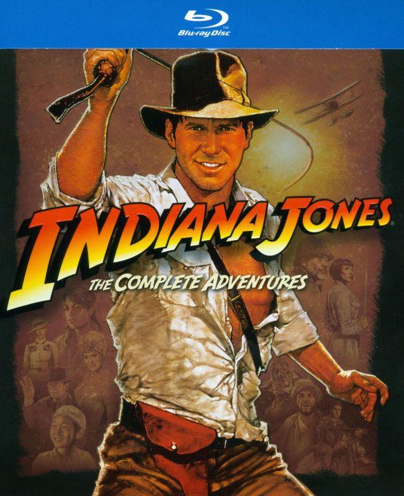 Indiana Jones: The Complete Adventures [5 Discs] [Blu-ray] 6315037
