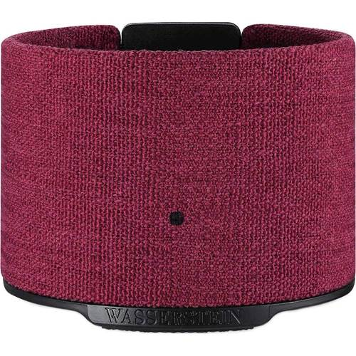 Wasserstein - 7000 mAh Portable Charger for Amazon Echo Dot (2nd generation) - Red