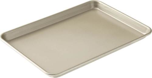 American Kitchen - Nonstick Baking Sheet - Champagne Aluminum construction; nonstick surface; dishwasher-safe design