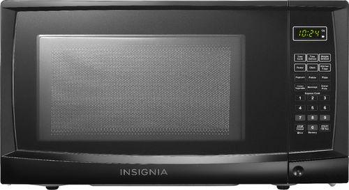 Insignia™ - 0.7 Cu. Ft. Compact Microwave - Black