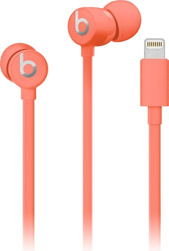 urBeats3 Wired Earphones with Lightning Connector - Coral
