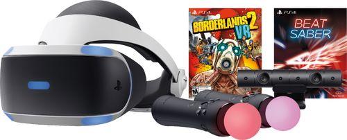 Sony PlayStation VR Bundle with Borderlands 2 VR & Beat Saber