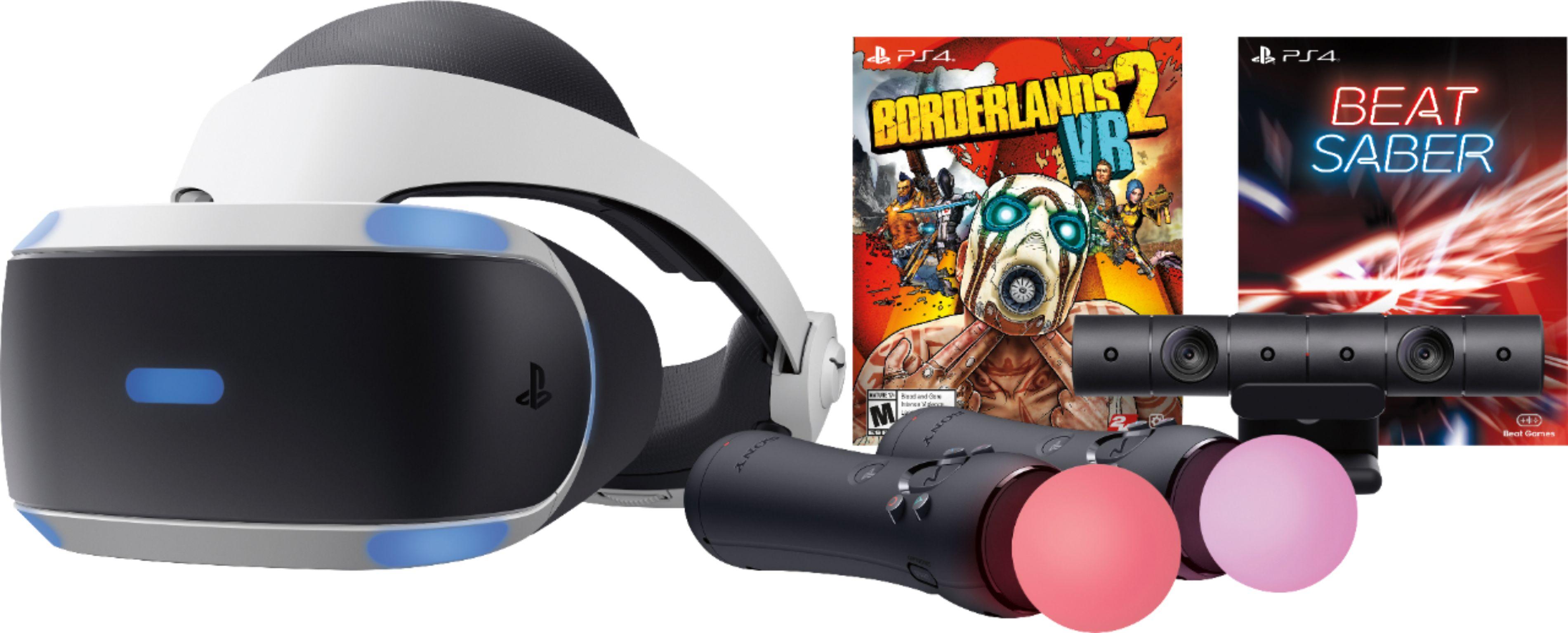 Playstation Vr - Borderlands 2 & Beat Saber Bundle