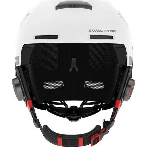 SWAGTRON Snowtide Bluetooth Ski & Snowboard Helmet Audio, SOS Alert, Walkie-Talkie/Push-to-Talk (Unlimited Range) & More