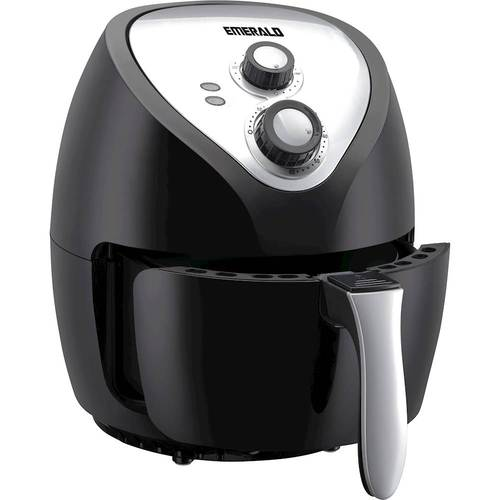 Emerald Air Fryer 4.0 Liter Capacity with Rapid Air Technology, Slide Out Basket & Pan 1400 Watts (1811)
