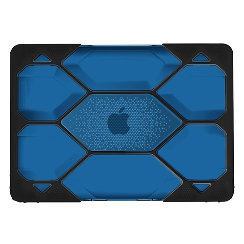 """iBenzer - Hexpact Top and Rear Cover for Apple® MacBook® Pro 13.3"""" - Black/Blue"""