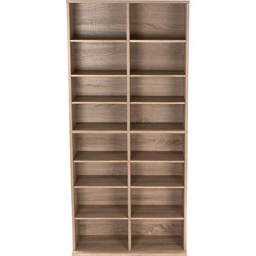 Henley 464 Media Storage Weathered Oak - Atlantic