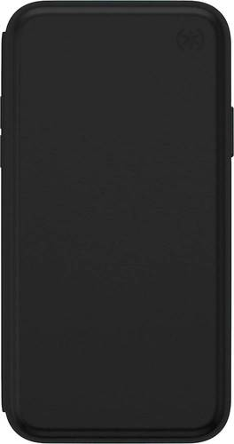 Speck Products Presidio Folio Leather iPhone Xs/iPhone X Case, Black/Black