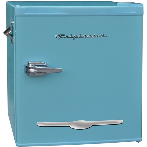 Frigidaire 1.6 Cu Ft Retro Mini Fridge With Side Bottle Opener, Blue