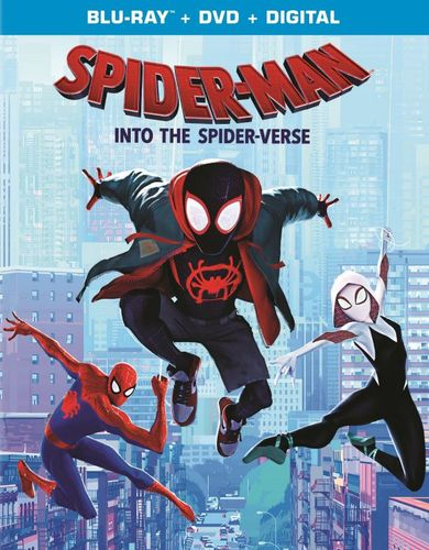 Spider-Man: Into the Spider-Verse [Includes Digital Copy] [Blu-ray/DVD] [2018]
