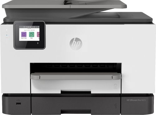 HP Officejet Pro 9025 Multifunction Printer - 4800 x 1200 dpi Print - Copier/Fax/Printer/Scanner - 500 sheets Input - 39 ppm Mono/39 ppm Color Print