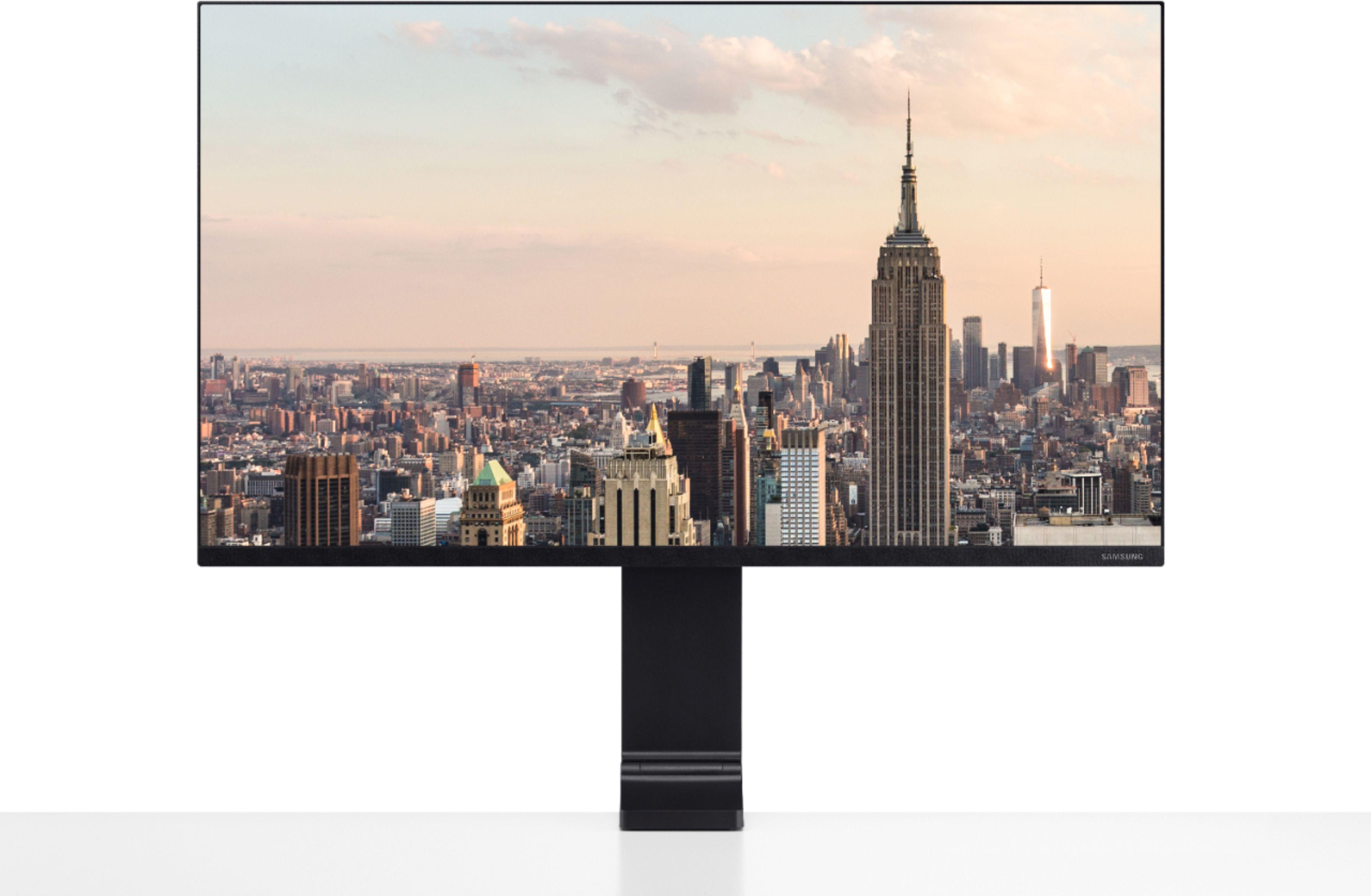"Samsung 31.5"" LCD 4K UHD Space Monitor Black S32R750U"
