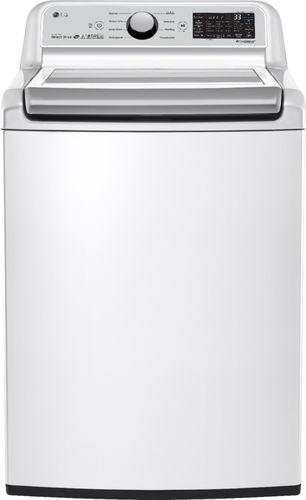 LG Electronics 5.0 cu. ft. White Top Load Washing Machine with TurboWash 3D