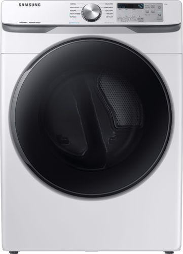 Samsung 7.5 cu. ft. White Gas Dryer with Steam