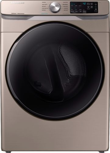 Samsung 7.5 cu. ft. Champagne Electric Dryer with Steam