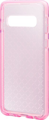 Platinum - Protective Case for Samsung Galaxy S10 - Transparent Pink