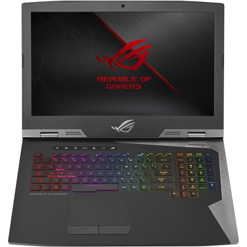 ASUS ROG Gaming Laptop 17.3, Intel Core i7-8750H, NVIDIA GeForce RTX 2080 8GB, 1TB HDD + 512GB SSD Storage, 16GB RAM, G703GX-XS71
