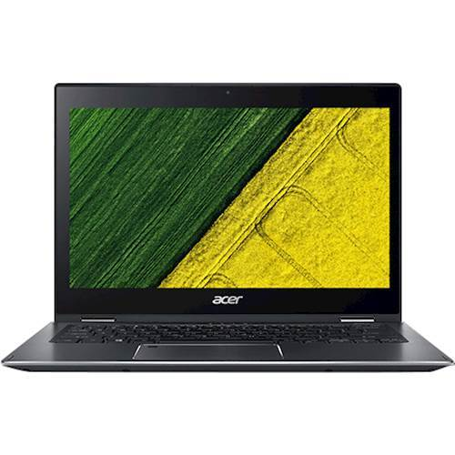 Acer Spin 5 SP513-52N-52PL 13.3u0022 Touchscreen 2 in 1 Notebook - 1920 x 1080 - Core i5 i5-8250U - 8 GB RAM - 256 GB SSD - Steel Gray - Windows 10 Home 64-bit - Intel UHD Graphics 620 - In-plane Swi