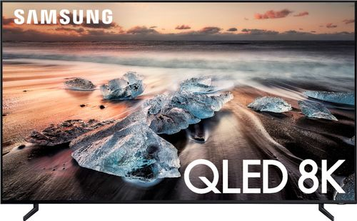 SAMSUNG 65u0022 Class 8K Ultra HD (4320P) HDR Smart QLED TV UN65Q900 (2019 Model)