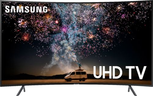 SAMSUNG 55u0022 Class 4K Ultra HD (2160P) HDR Smart LED Curved TV UN55RU7300 (2019 Model)