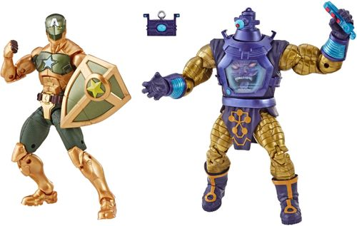Marvel Legends Arnim Zola and Supreme Captain America Action Figure 2 Pack
