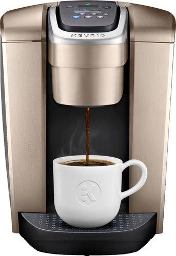 Keurig - K-Elite Single-Serve K-Cup Pod Coffee Maker - Brushed Gold