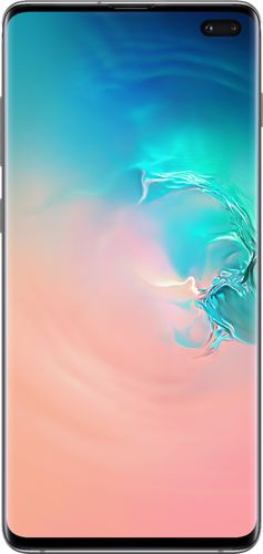 Samsung - Galaxy S10+ with 128GB Memory Cell Phone Prism - White (Verizon)