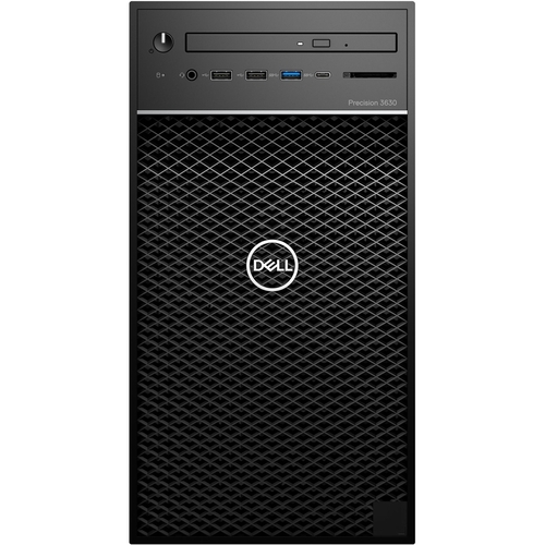 Dell Precision 3000 3630 Workstation - Intel Core i5 (8th Gen) i5-8500 Hexa-core (6 Core) 3GHz - 8GB DDR4 SDRAM - 1TB HDD - Intel UHD Graphics 630 Graphics - Windows 10 Pro