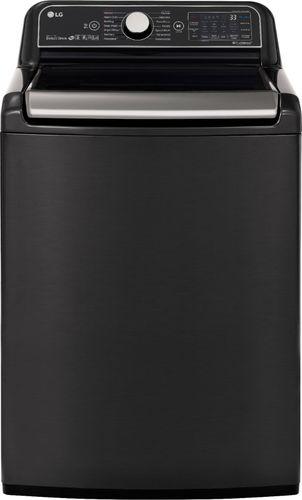 LG Electronics 5.5 cu.ft. Black Steel Top Load Washing Machine with TurboWash