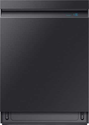 Samsung 24 in. Top Control Linear Wash Tall Tub Dishwasher in Fingerprint Resistant Black Stainless, 3rd Rack, 39 dBA