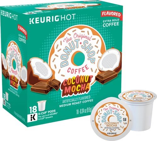 Coffee People - Coffee People Donut Shop Coconut Mocha K-Cup® Pods (18-Pack) - Multi 6330728