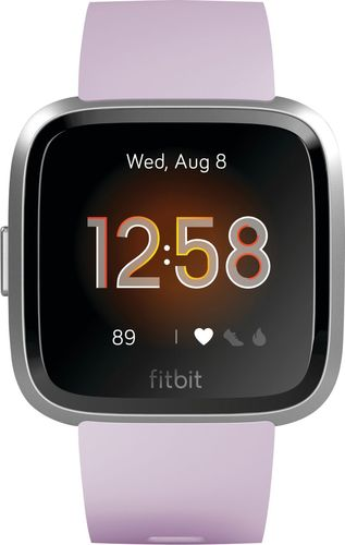 Fitbit Versa Lite Smartwatch with Small & Large Band - Lilac